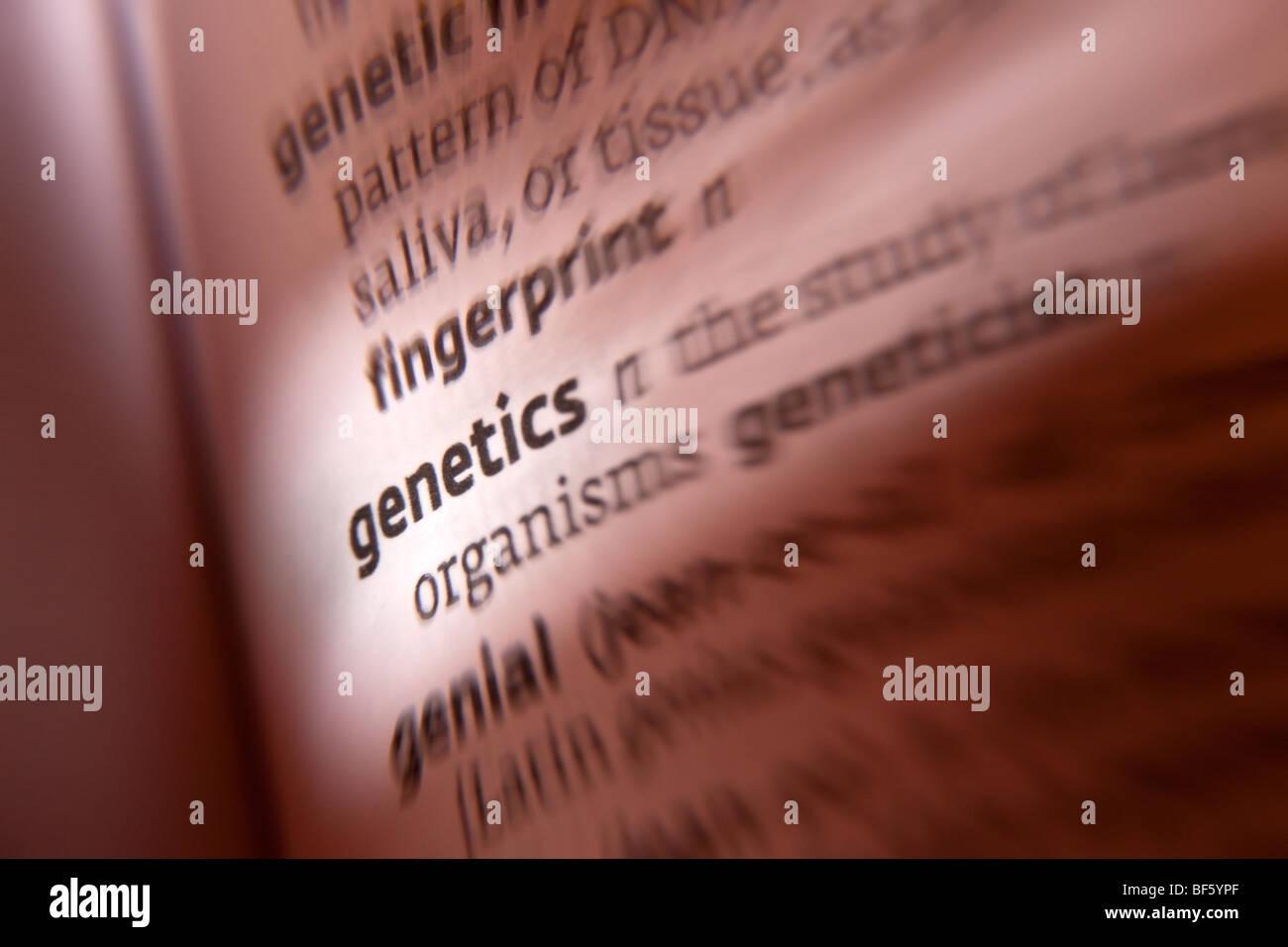 Genetica Immagini Stock