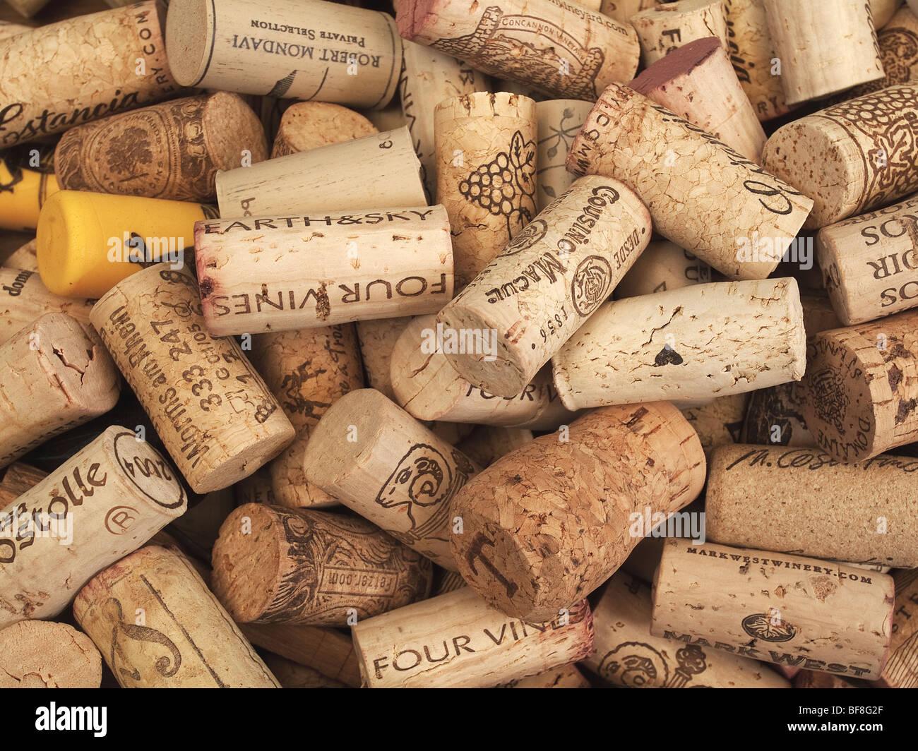 negozio di sconto molti alla moda negozio del Regno Unito I tappi di sughero da aperto le bottiglie di vino Foto & Immagine ...