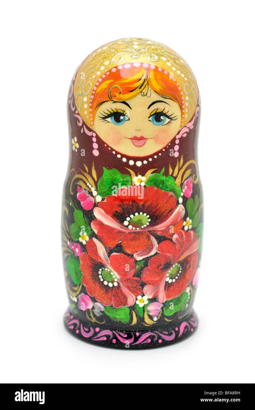 La nidificazione russo - Bambola matrioska Immagini Stock