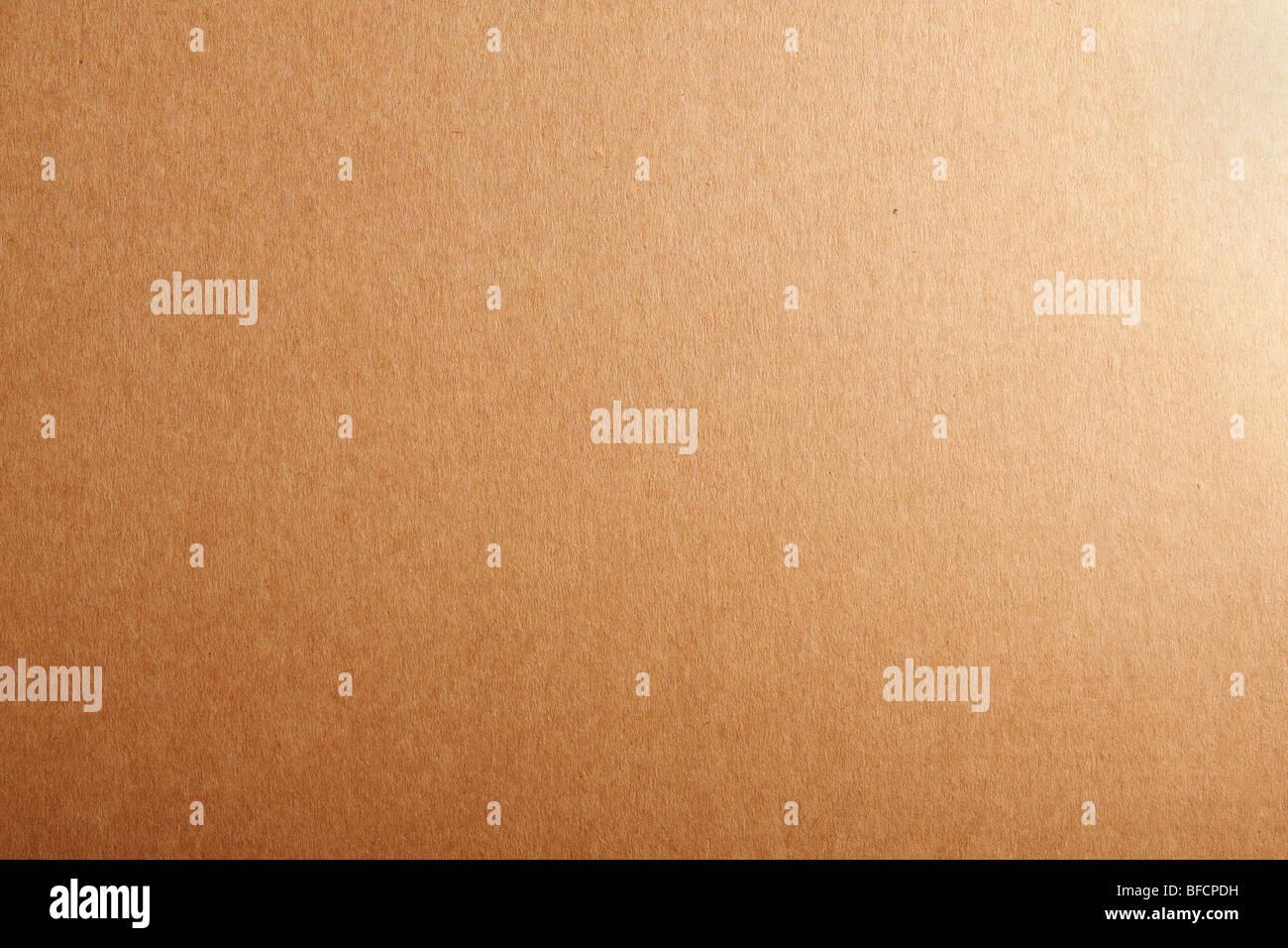 Fustellato di cartone beige textured background. Foto Stock
