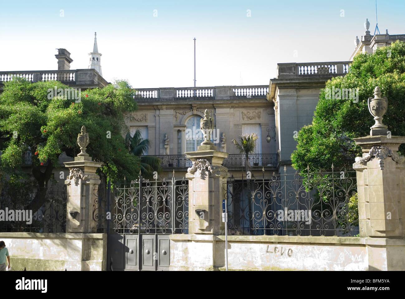 Museo delle Arti Decorative, nel Palacio Taranco, costruito nel 1910, Montevideo, Uruguay Immagini Stock