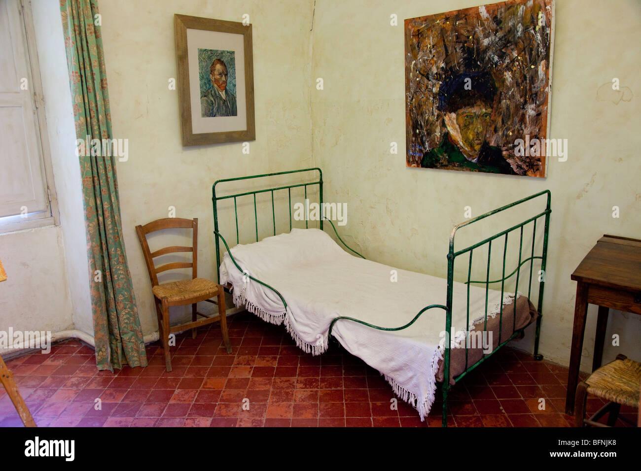Van Gogh la camera da letto all\'asilo - San Paolo de Mausole ...