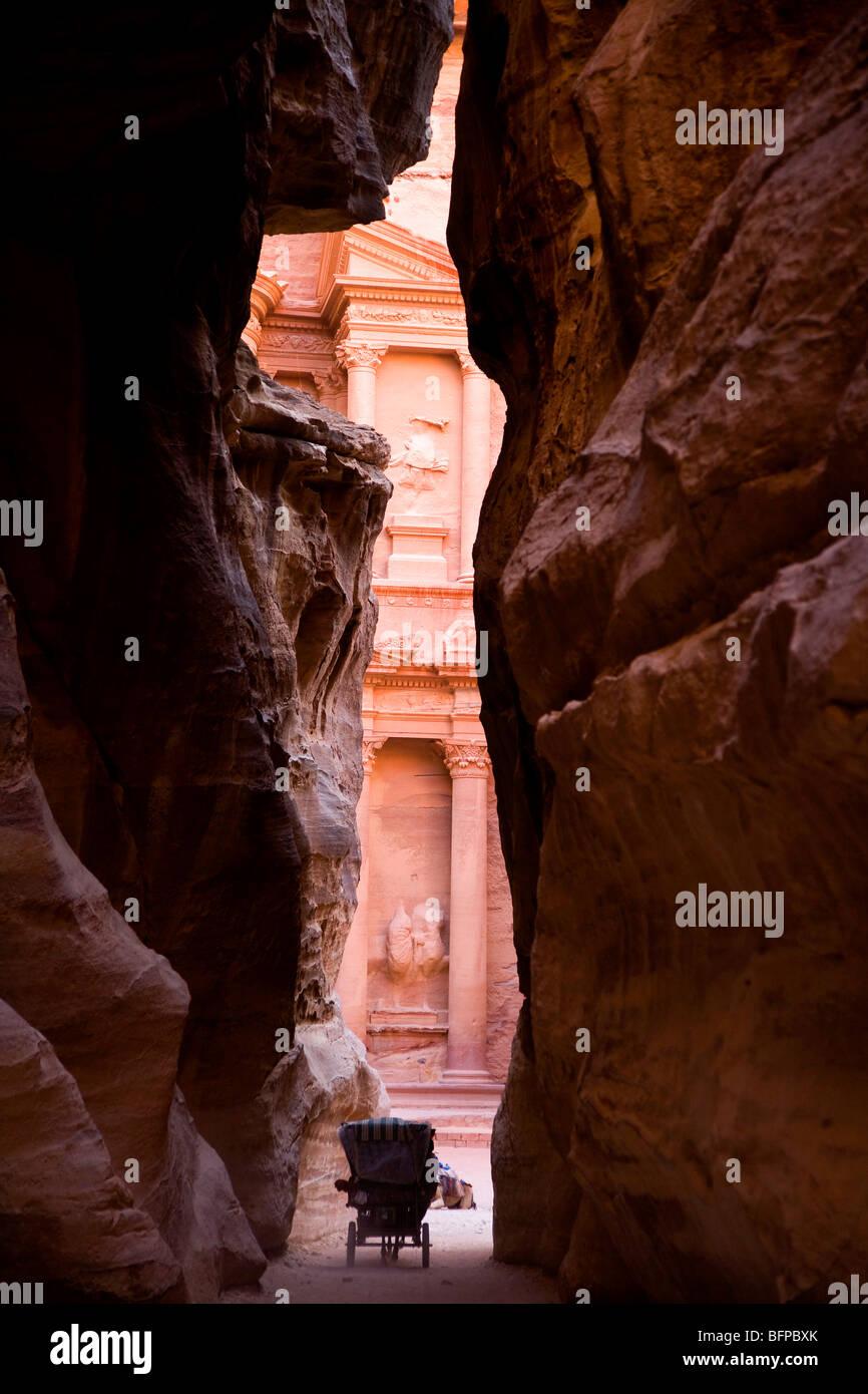 Petra, Giordania, Medio Oriente e Asia Immagini Stock