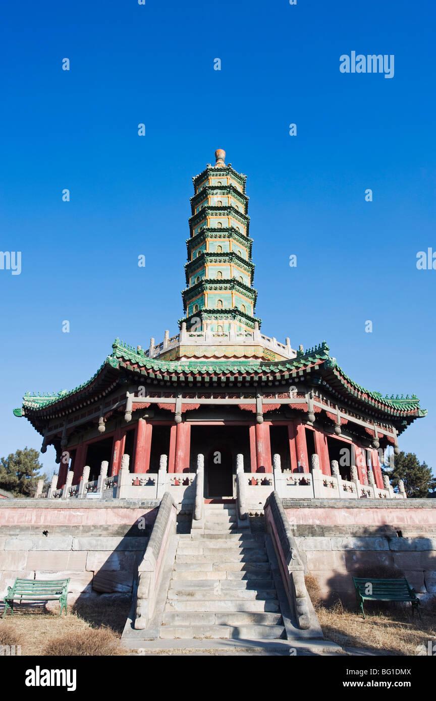 Xumi Fushou (Tempio di Sumeru felicità e longevità) risalente al 1780, la città di Chengde, nella Immagini Stock