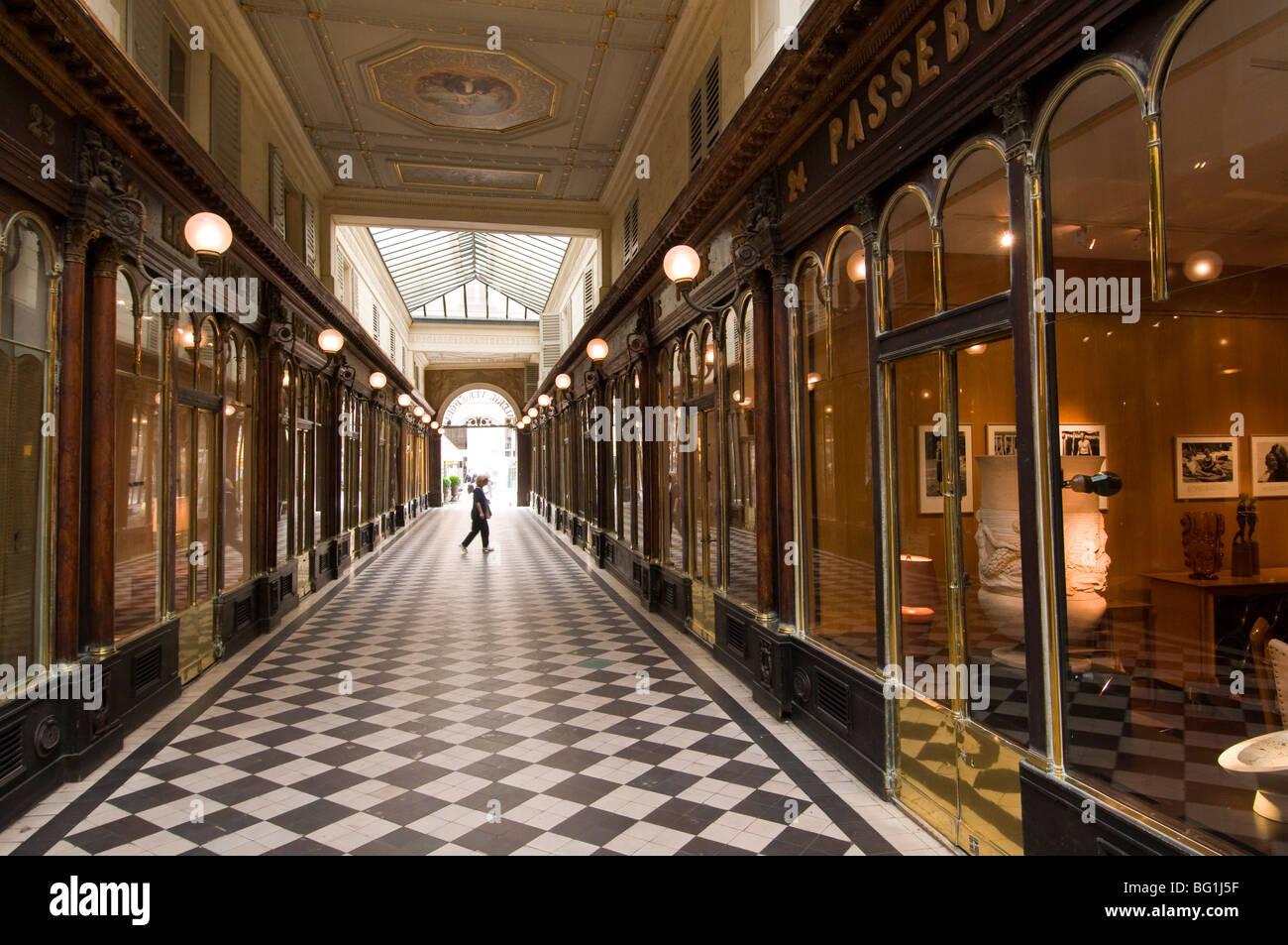 Galerie Vero-Dodat, Parigi, Francia, Europa Foto Stock