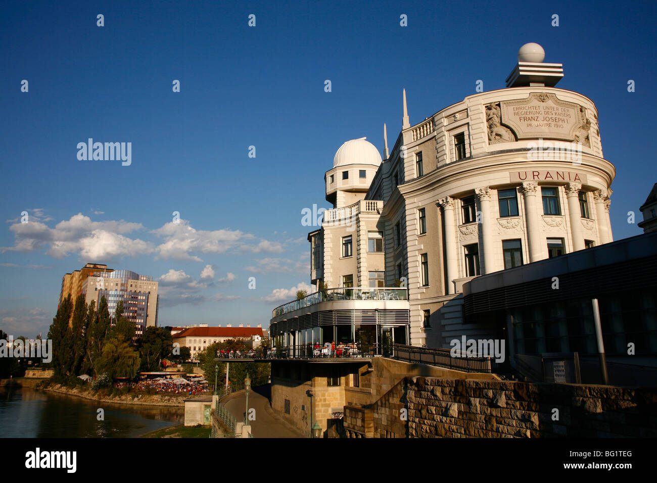Osservatorio Urania, Vienna, Austria, Europa Immagini Stock