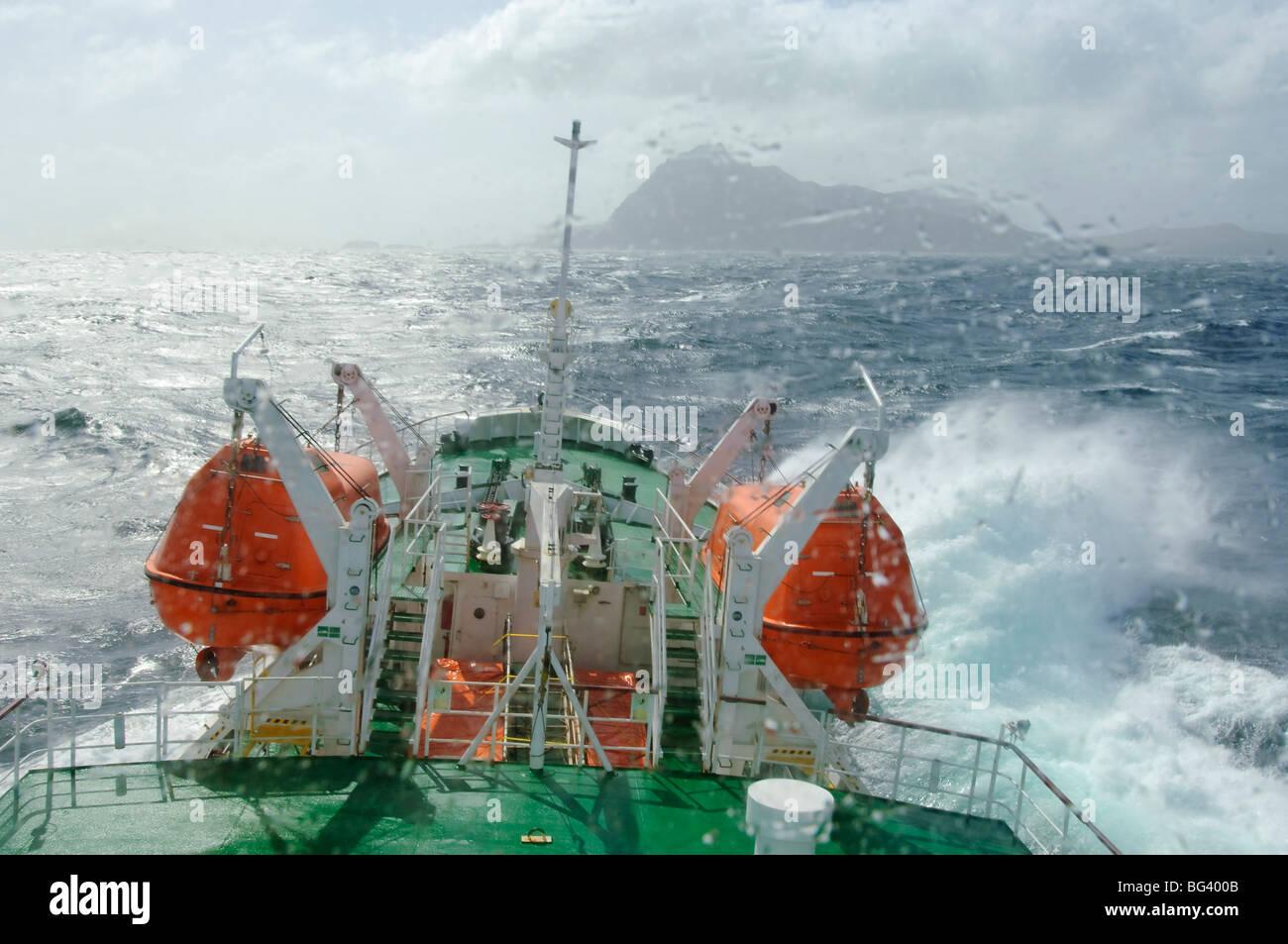 Sogno antartico nel passaggio di Drake vicino a Capo Horn, Cile, Sud America Immagini Stock
