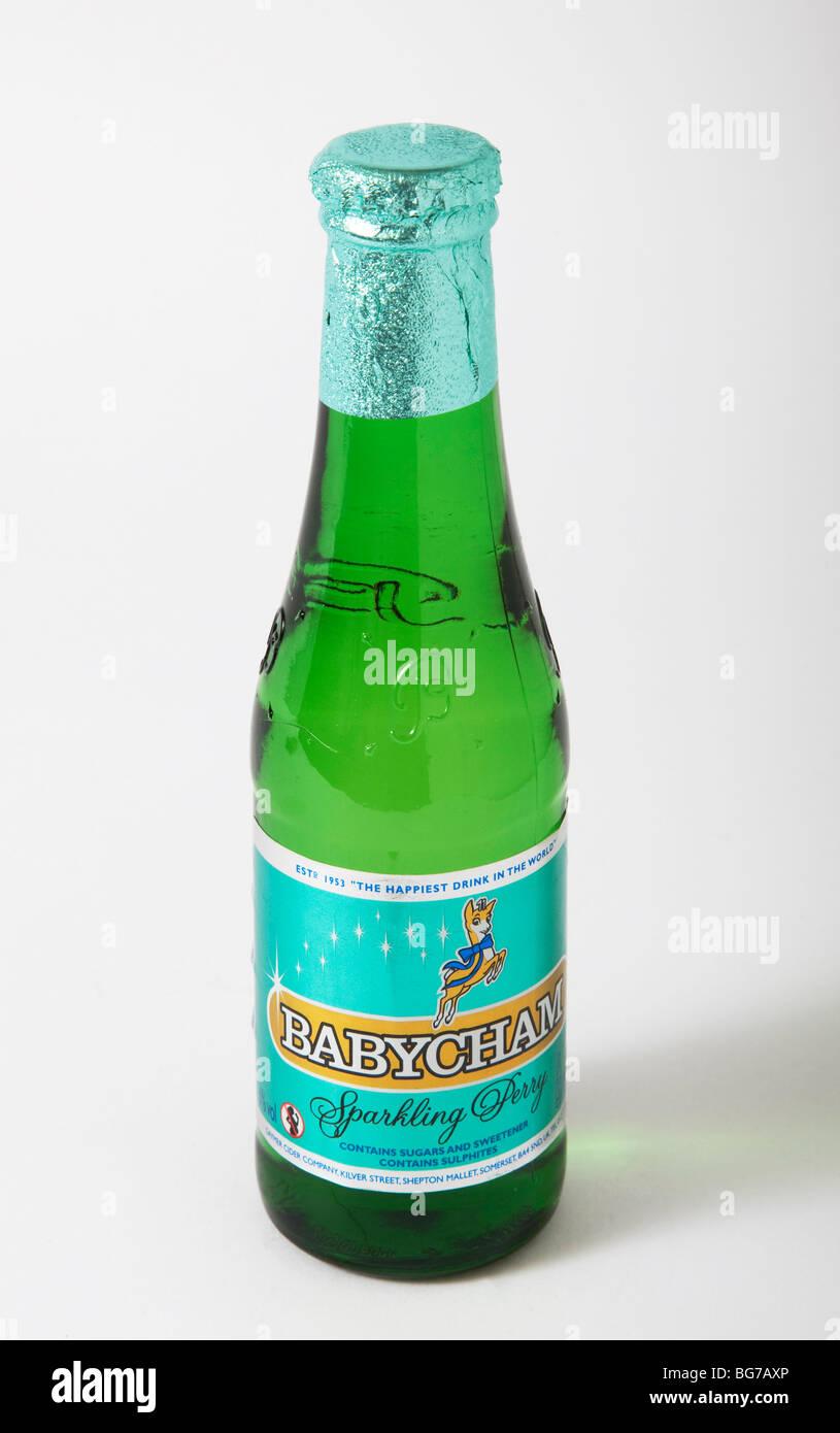 Bottiglia babycham reto bevande Immagini Stock