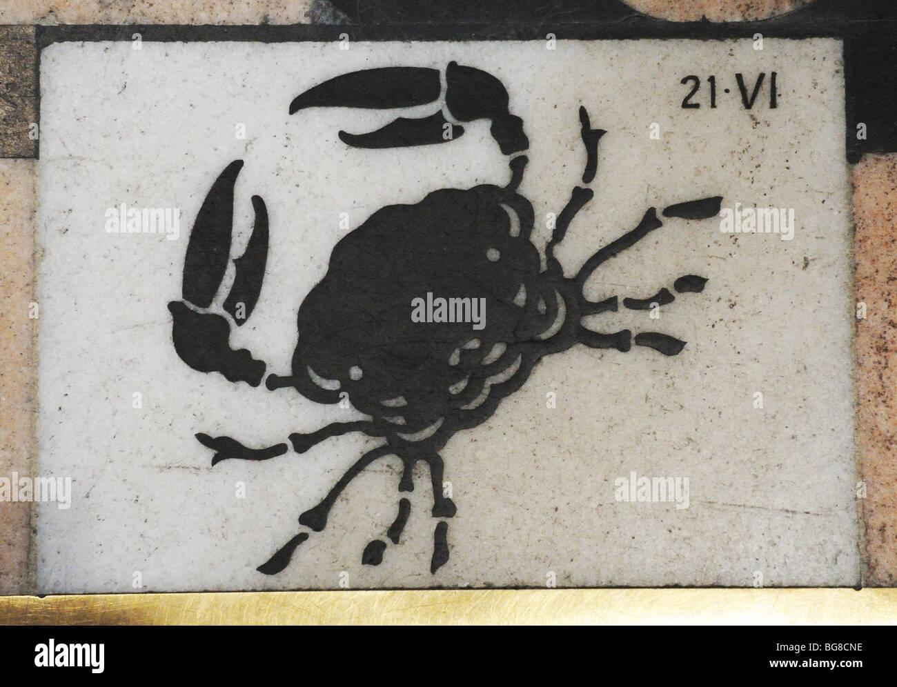 Cancer zodiac sign immagini & cancer zodiac sign fotos stock alamy