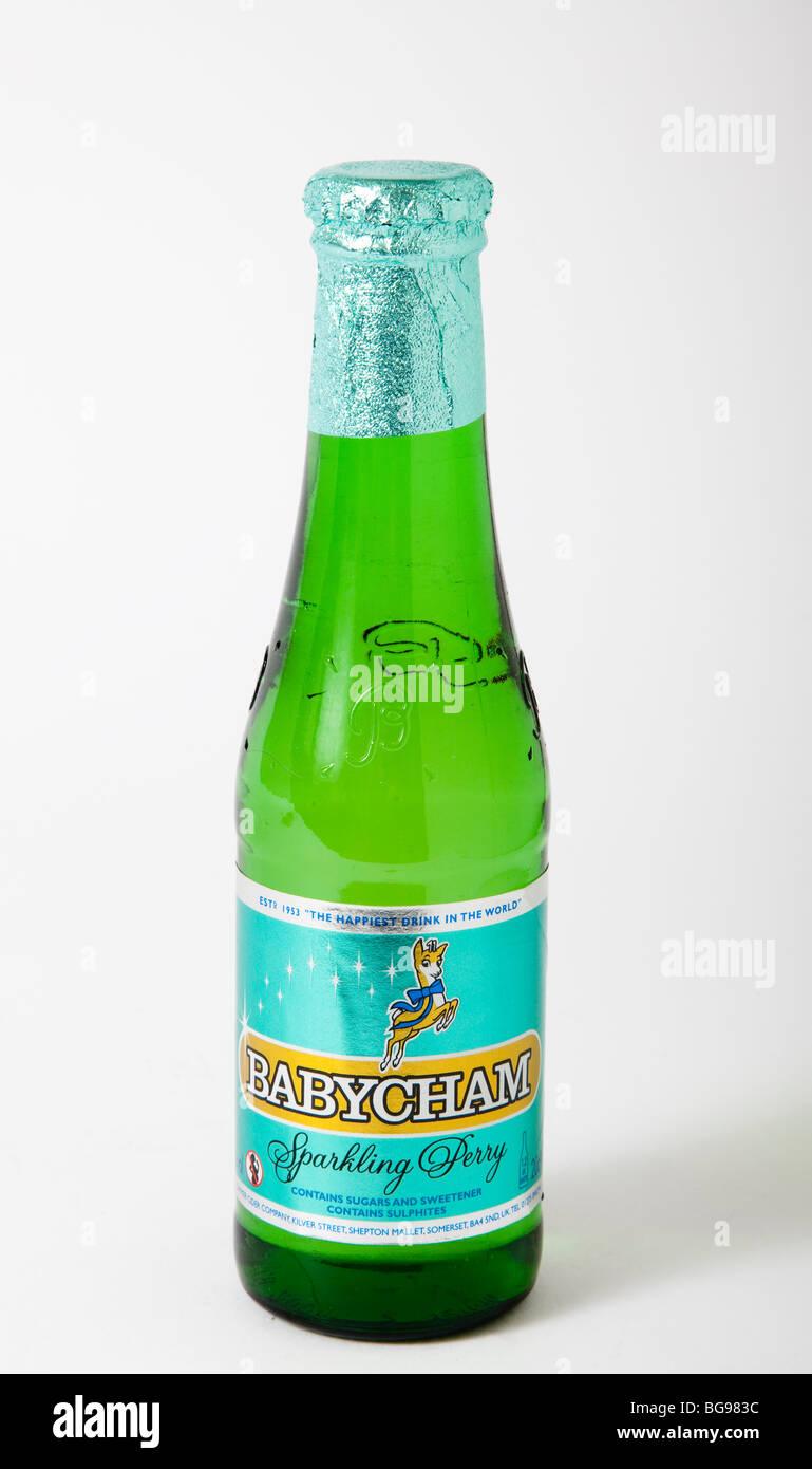 bottiglia babycham Immagini Stock