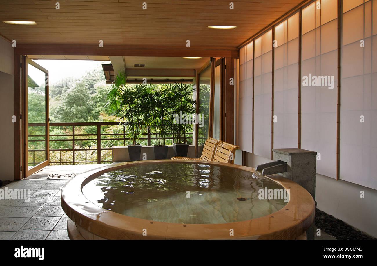 Vasca Da Bagno Giapponese In Legno : Gora kadan. ryokan giapponese. hakone giappone. guest accommodation