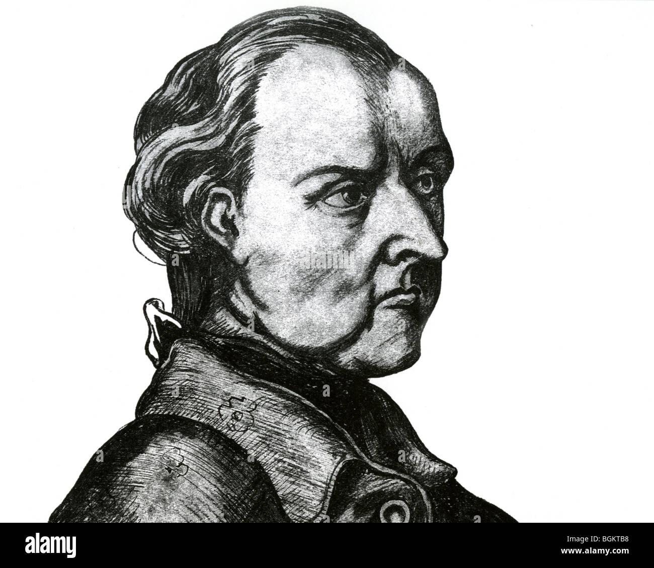 JOSE RODRIGUEZ DE FRANCIA - dittatore del Paraguay (1756-1840) Immagini Stock