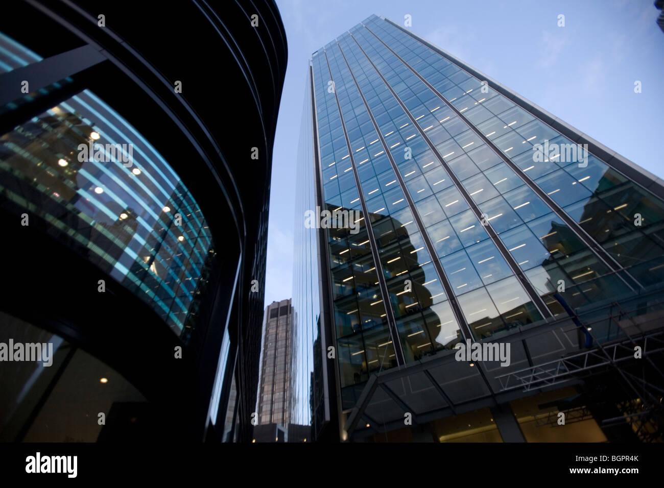 La borsa Tower Londra, Inghilterra, Regno Unito Immagini Stock