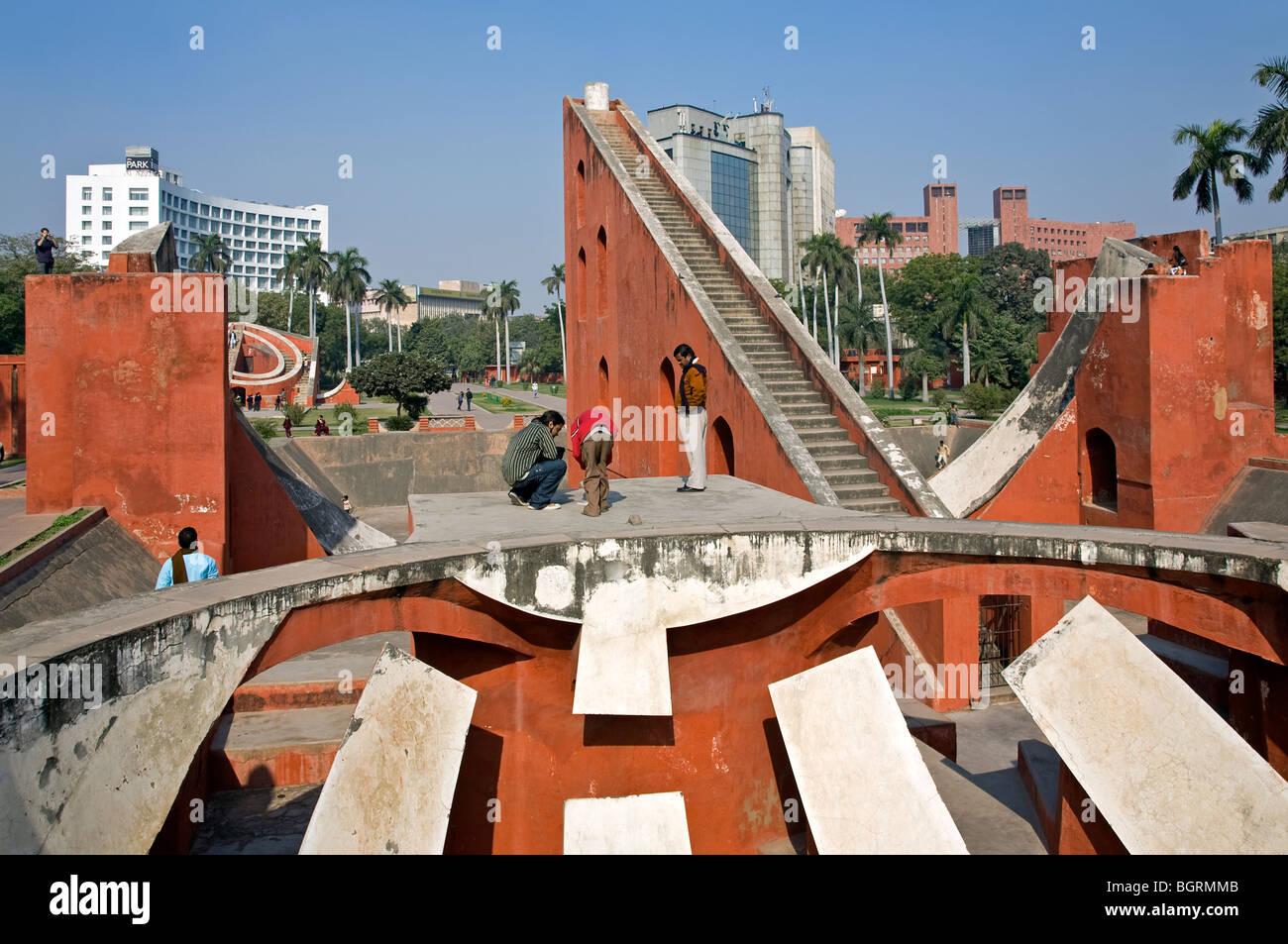 Jantar Mantar observatory. New Delhi. India Immagini Stock