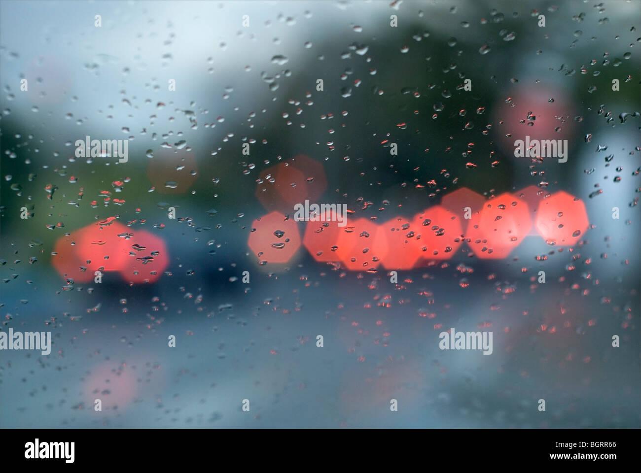 Giornata di pioggia Immagini Stock