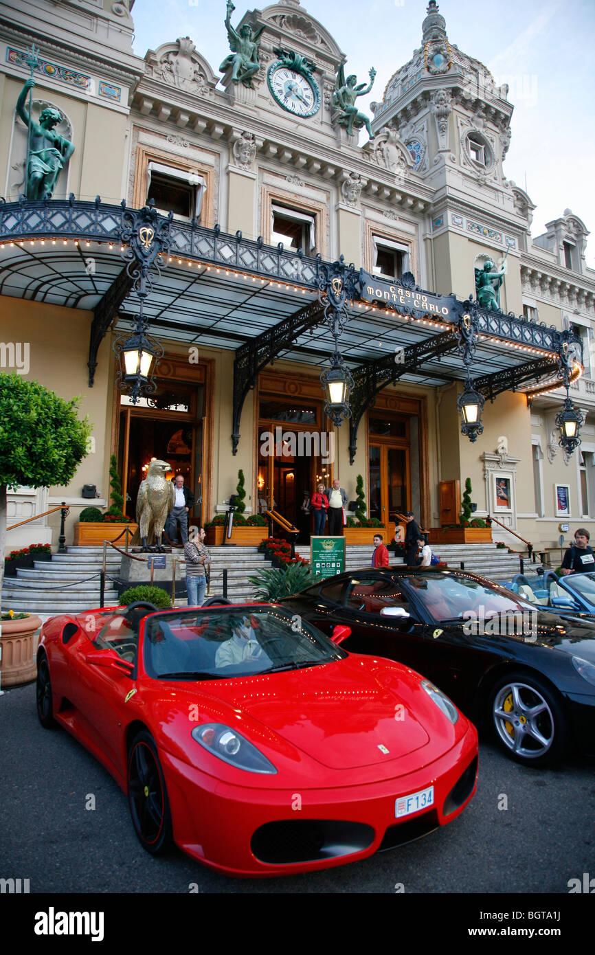 Il Casinò di Monte Carlo, Monaco. Immagini Stock