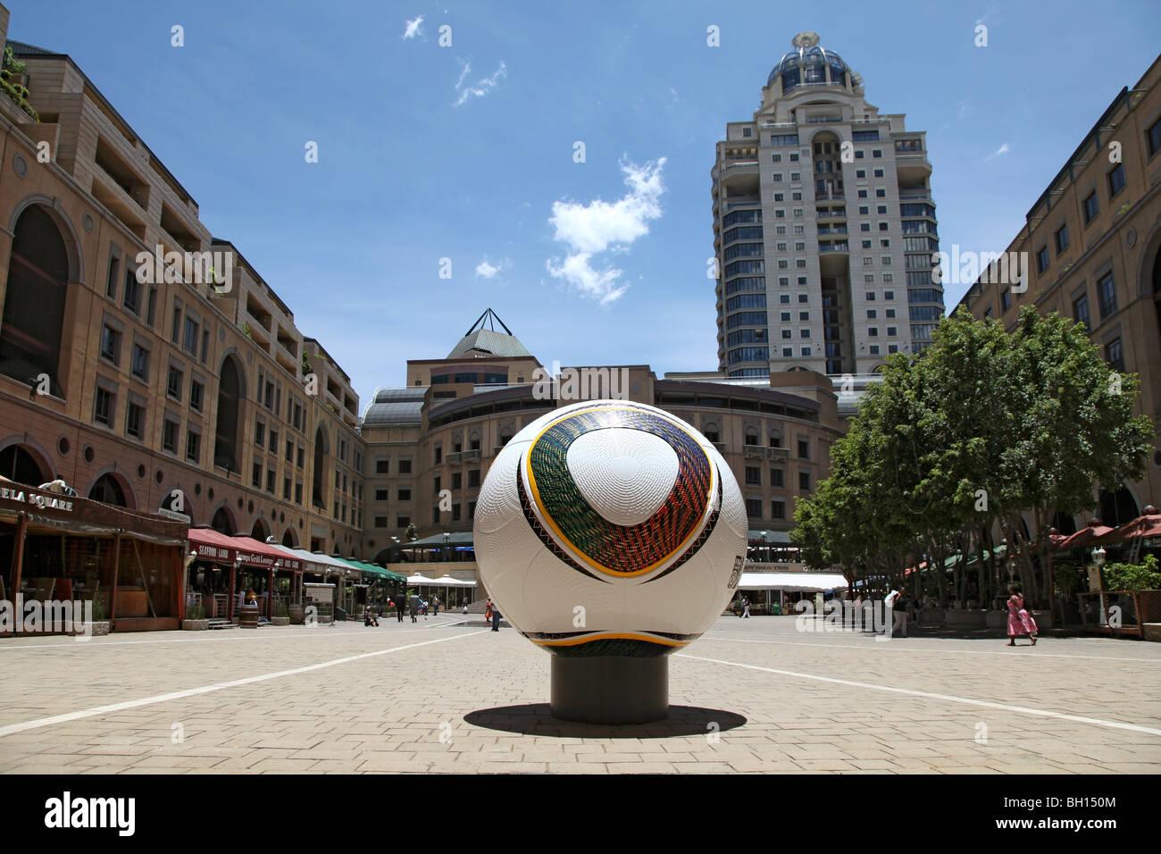 Nelson Mandela Plaza, Johannesburg, Sud Africa Immagini Stock