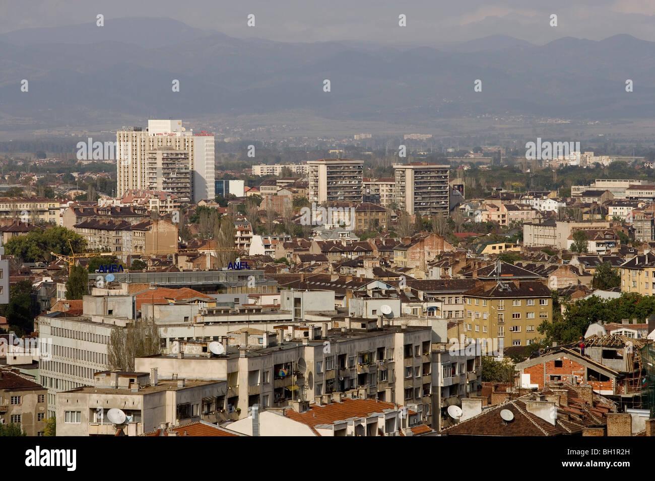 La Bulgaria Sofia Vista Panoramica Da Rodina Hotel Foto Immagine