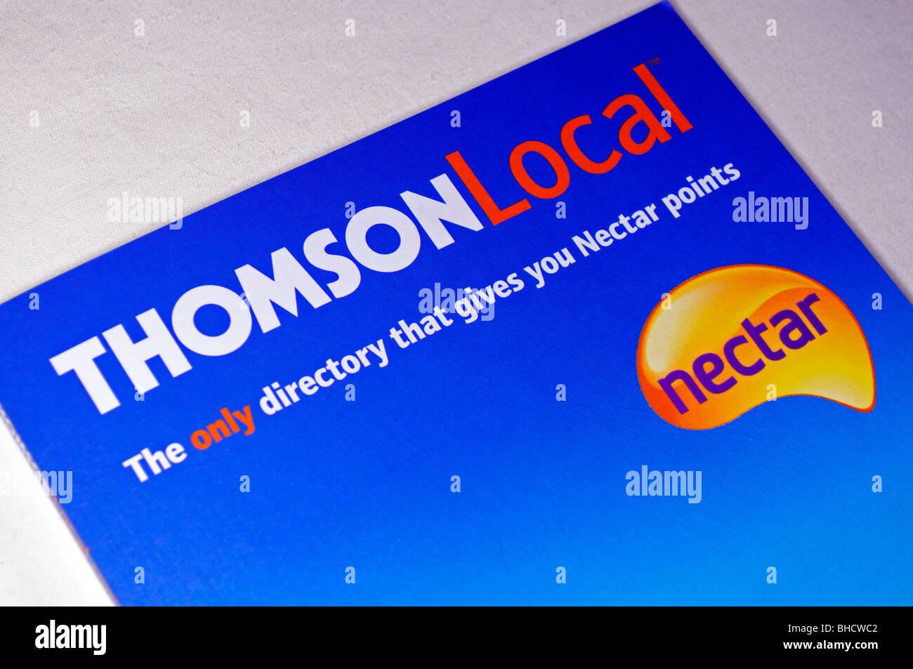 Il Thompson elenco telefonico locale Immagini Stock