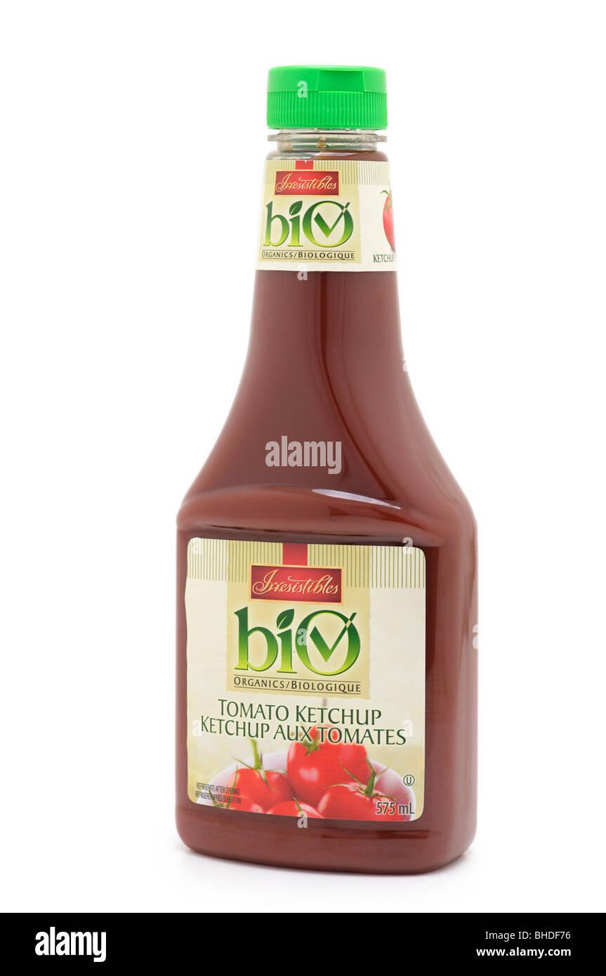 Bottiglia di ketchup Immagini Stock