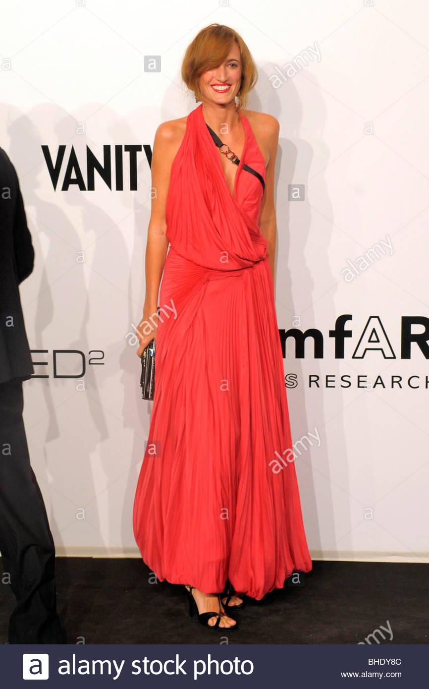 Maria sole Brivio Sforza, Milano 2009, amfar serata di gala Immagini Stock