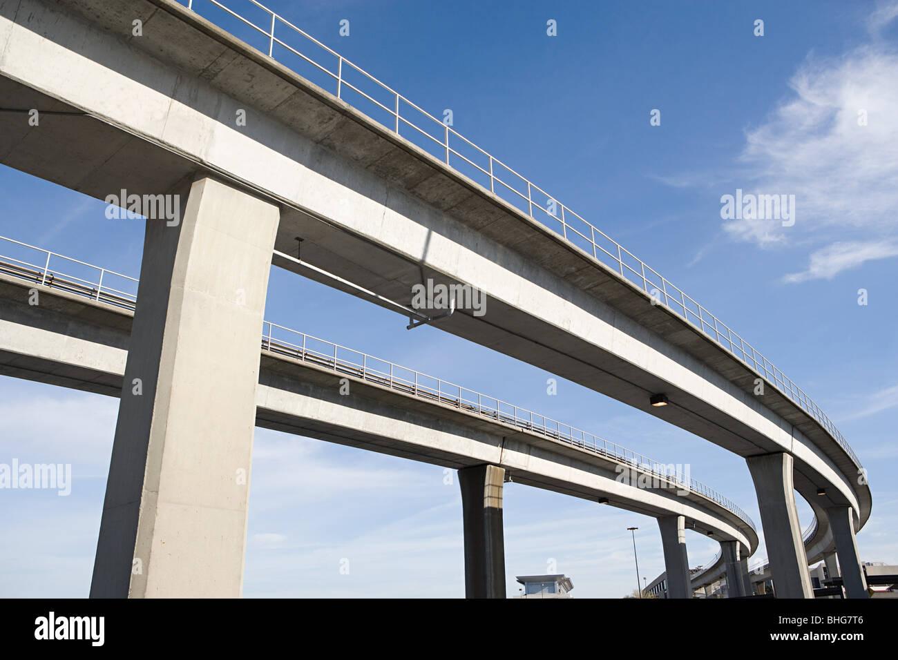 Autostrade sopraelevate Immagini Stock