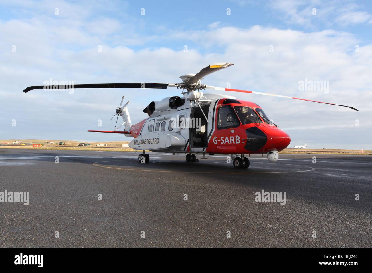 Elicottero Usato : Sikorsky s 92 elicottero usato dalla guardia costiera del regno