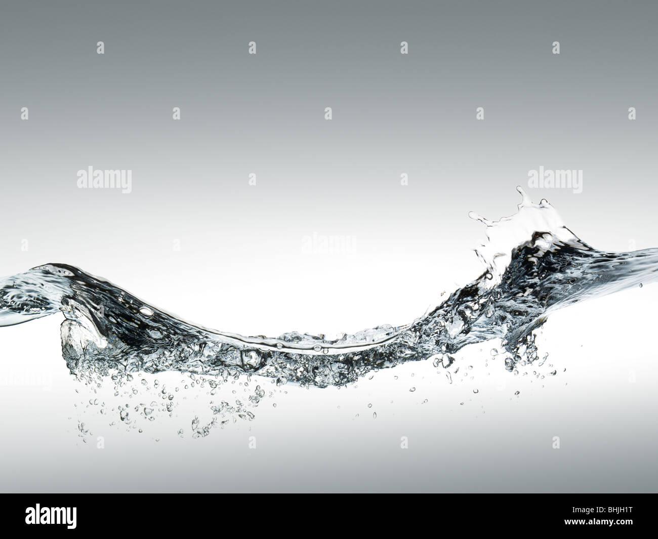 Wave, acqua sruface Immagini Stock