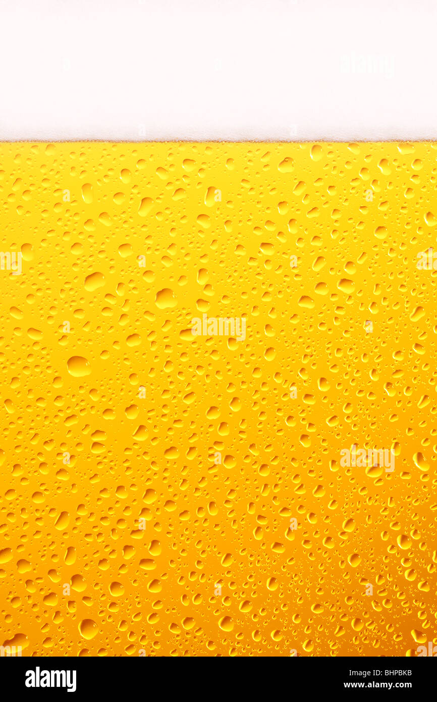 Bicchiere da birra, vicino. Immagini Stock