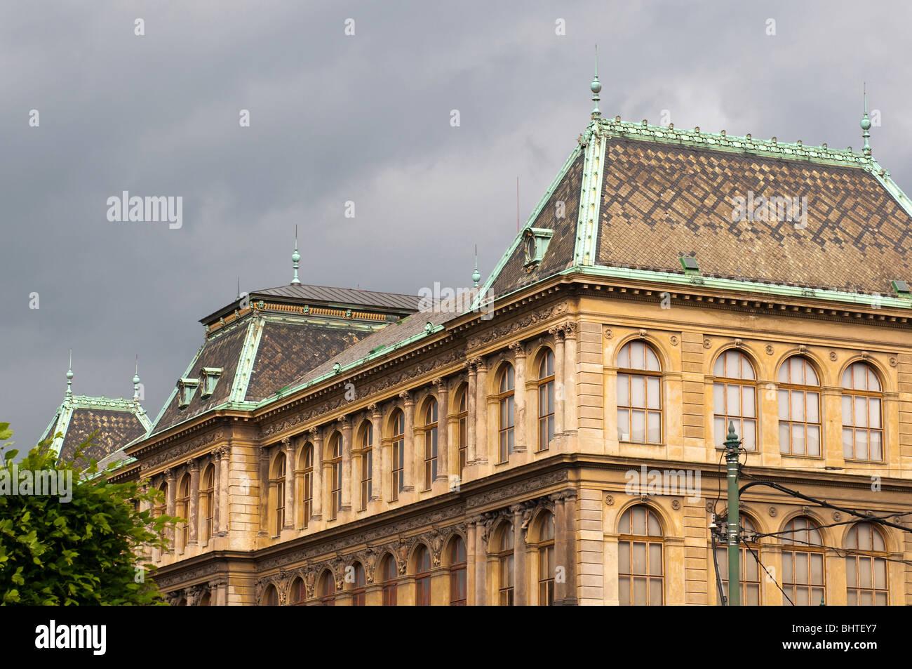 Museo delle Arti Decorative, Praga, Repubblica Ceca. Immagini Stock