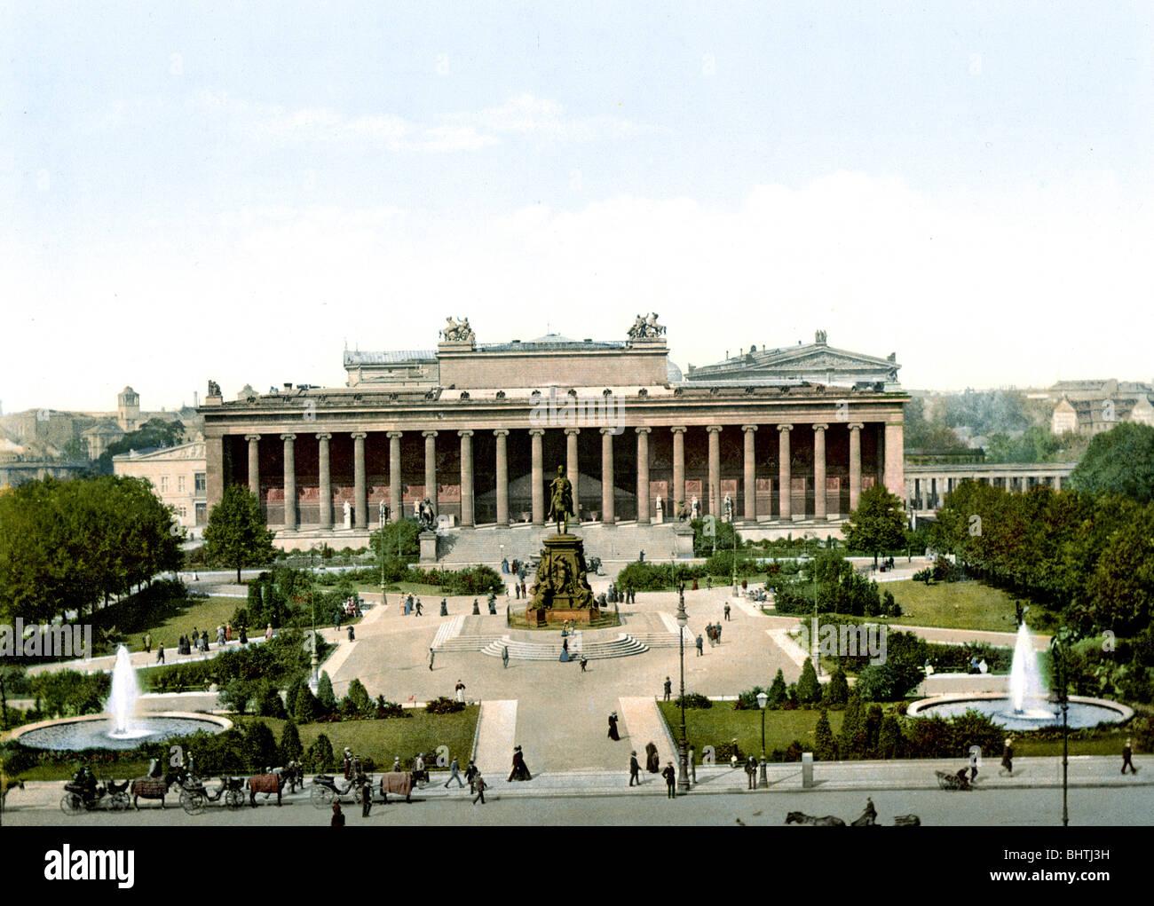Museo di Berlino Immagini Stock