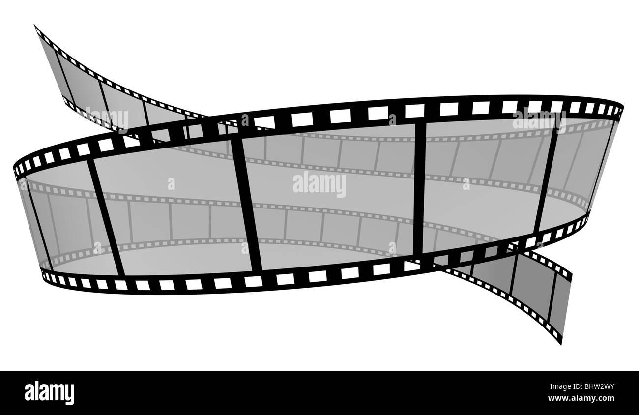 Striscia di pellicola Immagini Stock