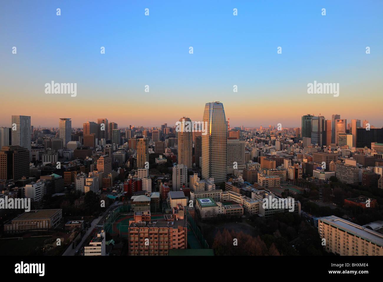 Cityscape, Minato, Tokyo, Giappone Immagini Stock