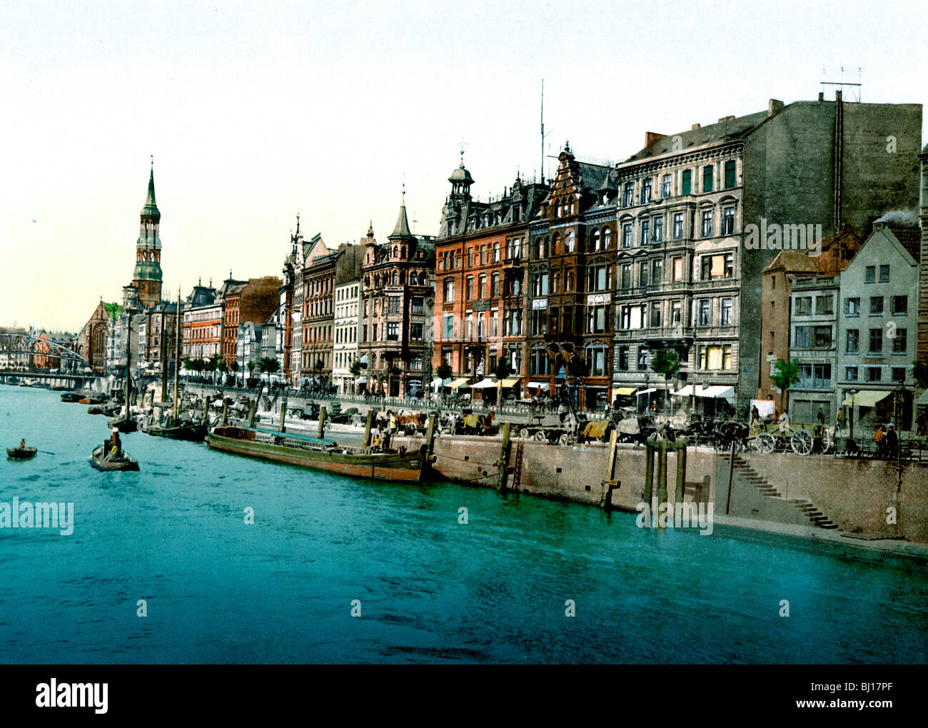 Dovenfleht Hamburg Immagini Stock