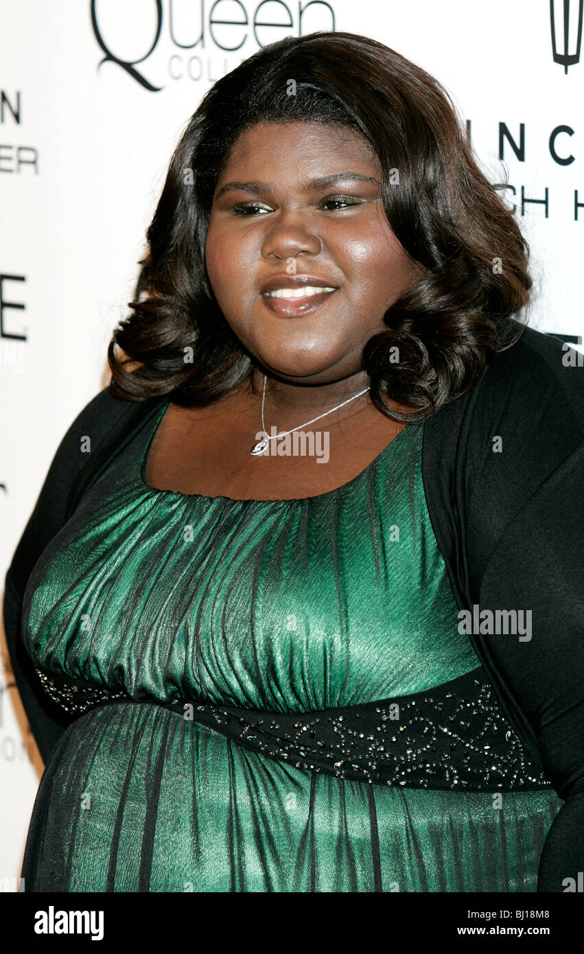 GABOUREY SIBIDE 3RD ESSENZA ANNUALE NERO DONNE IN HOLLYWOOD LUNCHEON BEVERLY HILLS HOTEL BEVERLY HILLS USA 04 Marzo Immagini Stock