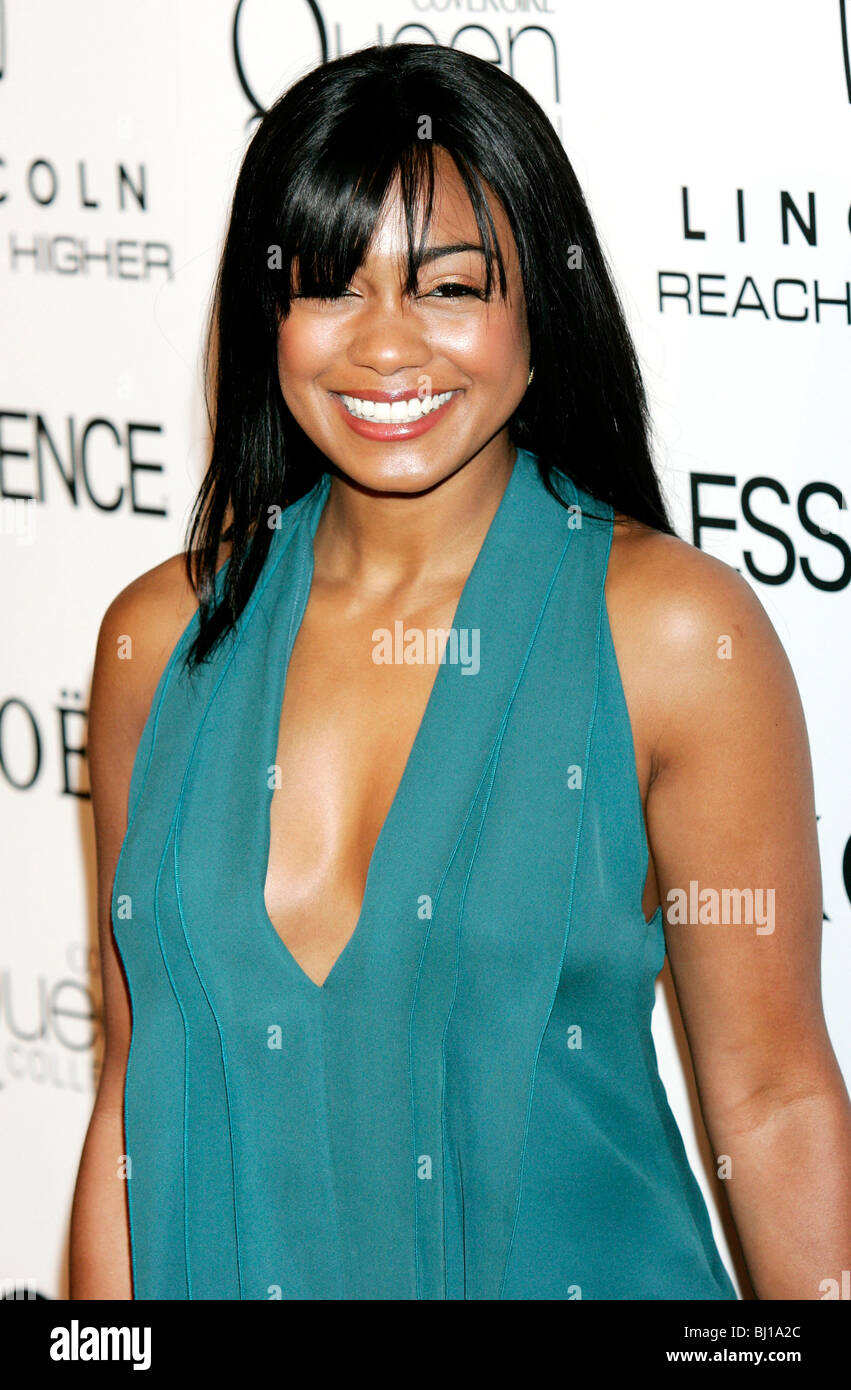 TATYANA ALI 3RD ESSENZA ANNUALE NERO DONNE IN HOLLYWOOD LUNCHEON BEVERLY HILLS HOTEL BEVERLY HILLS USA 04 Marzo Immagini Stock