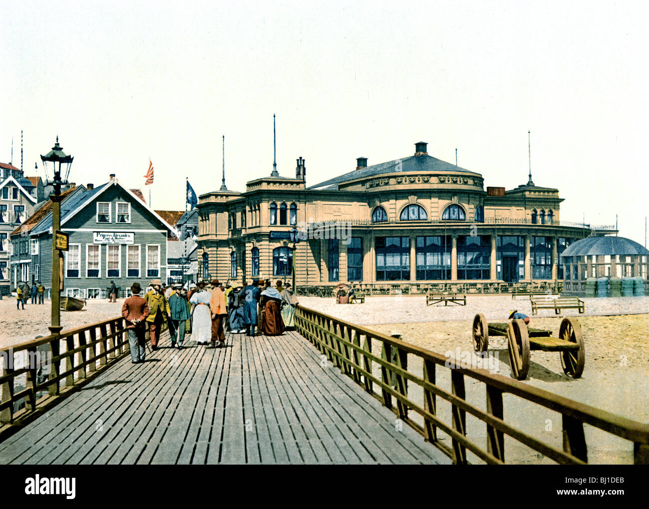 Conversationshaus Helgoland Foto Stock