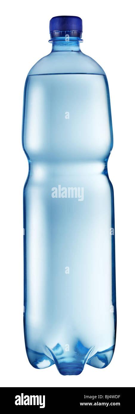 La bottiglia di plastica di acqua Immagini Stock