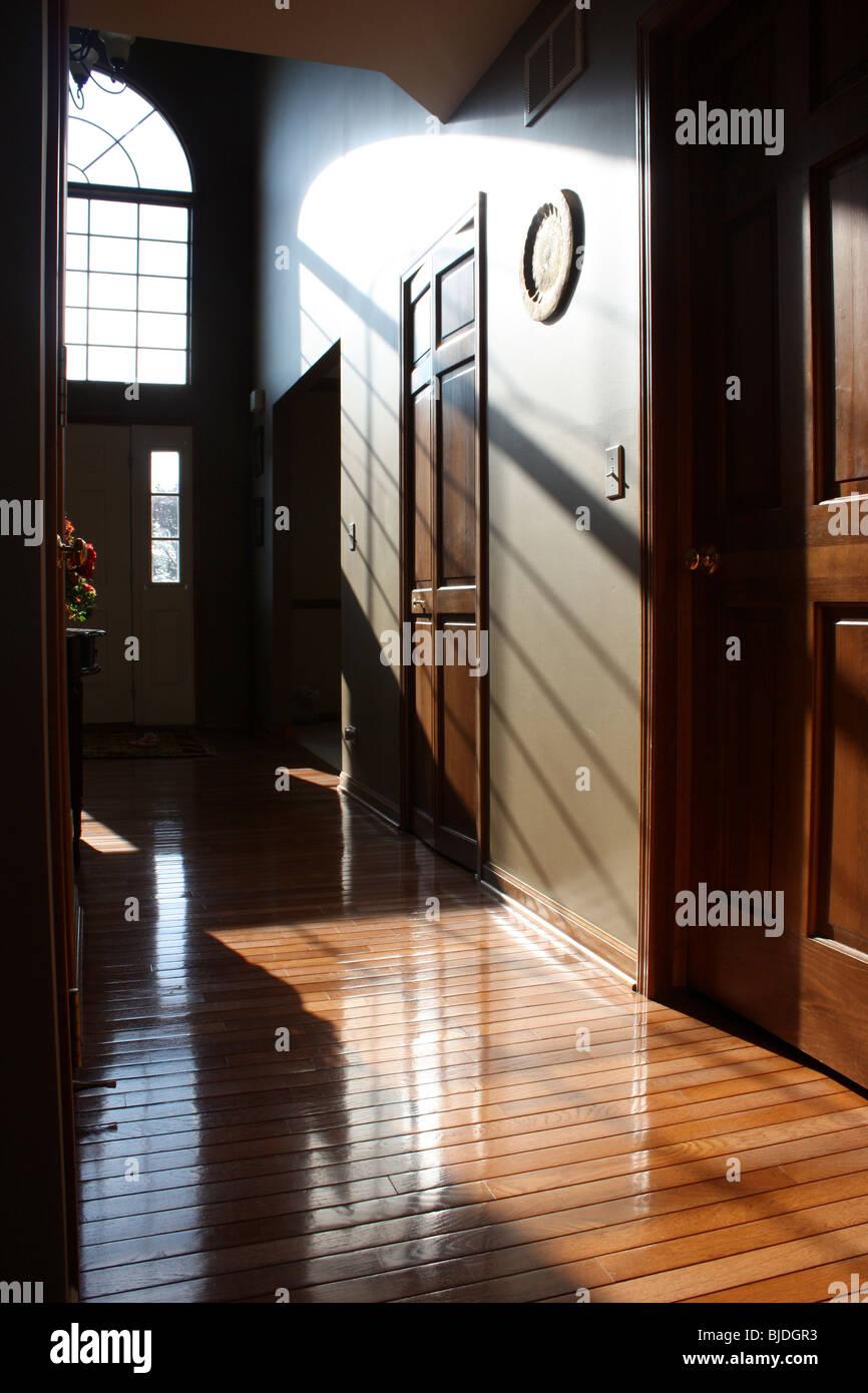 Interno di una casa in USA Immagini Stock