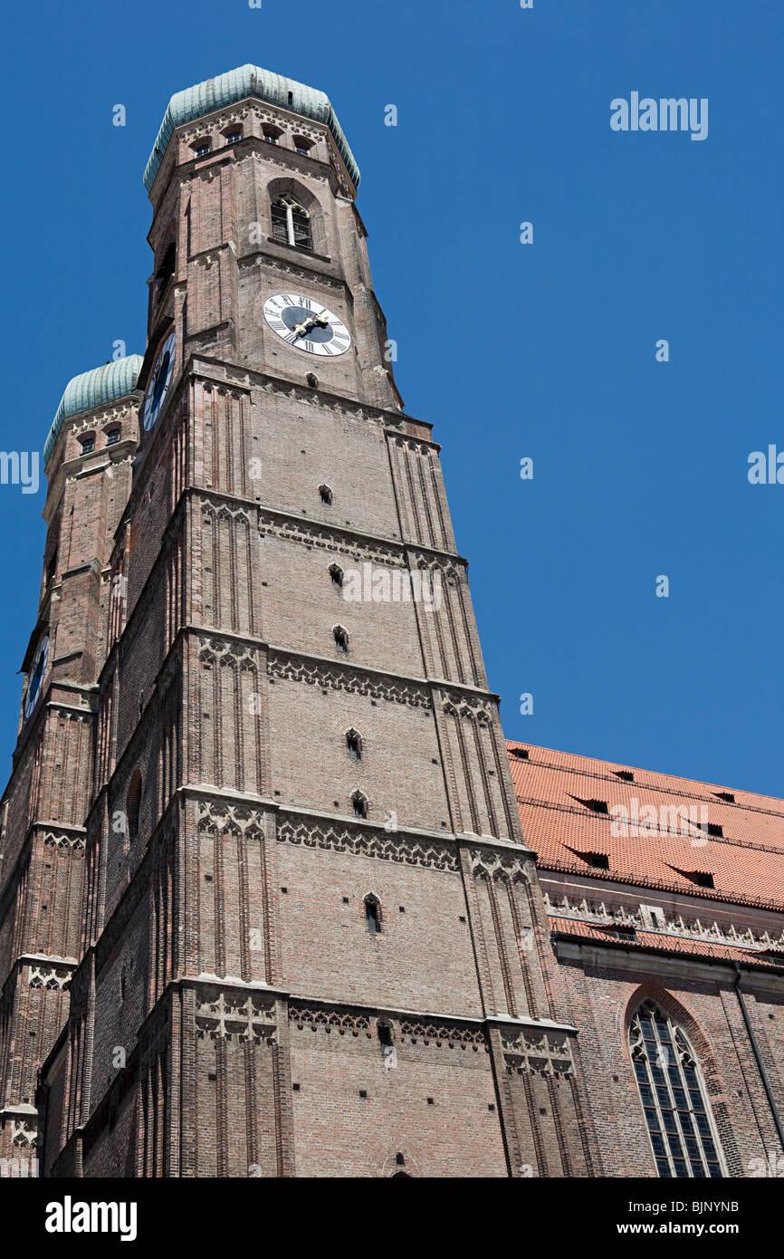 Frauenkirche di Monaco Immagini Stock
