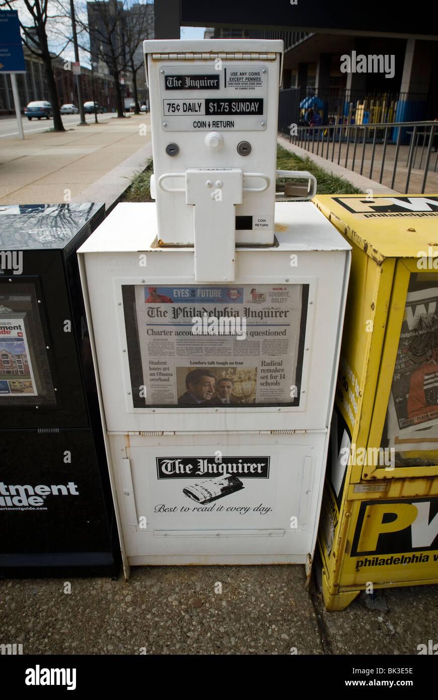 Un Quotidiano Di Box Per Il Philadelphia Inquirer In Philadelphia