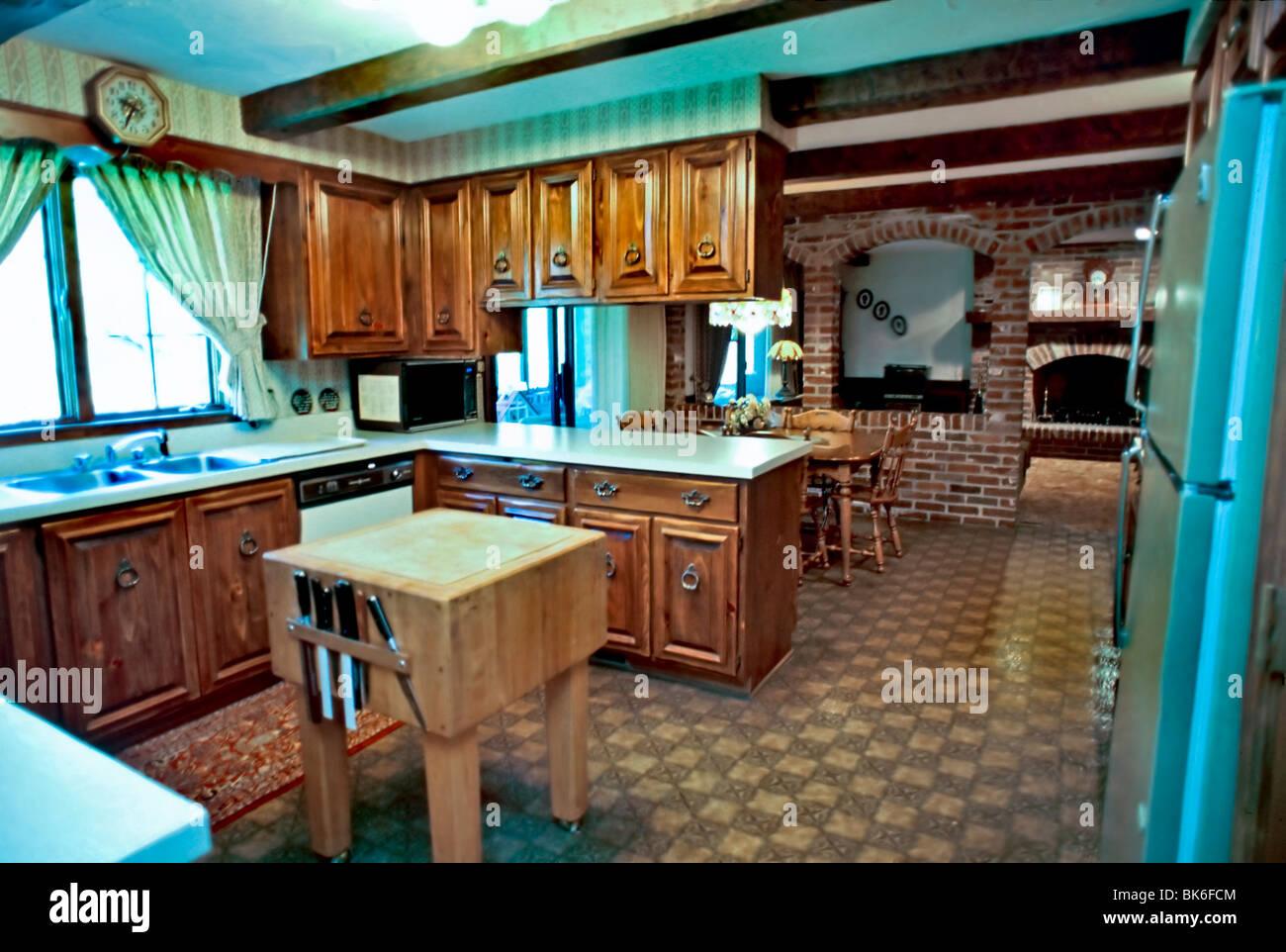 Casa americana interni, progettati in modo personalizzato la ...