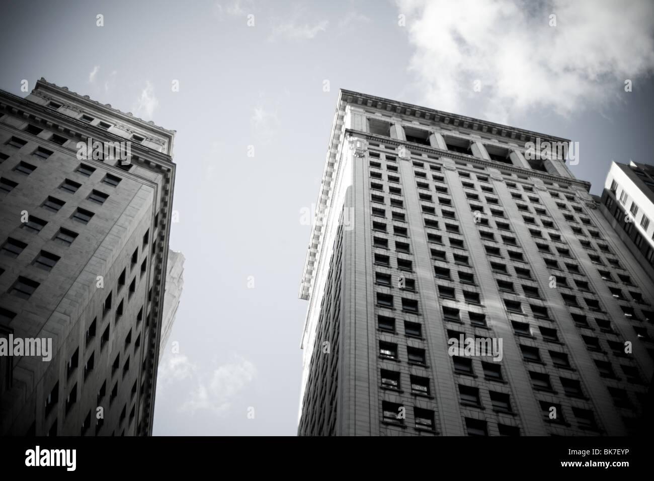 New york immobili Immagini Stock