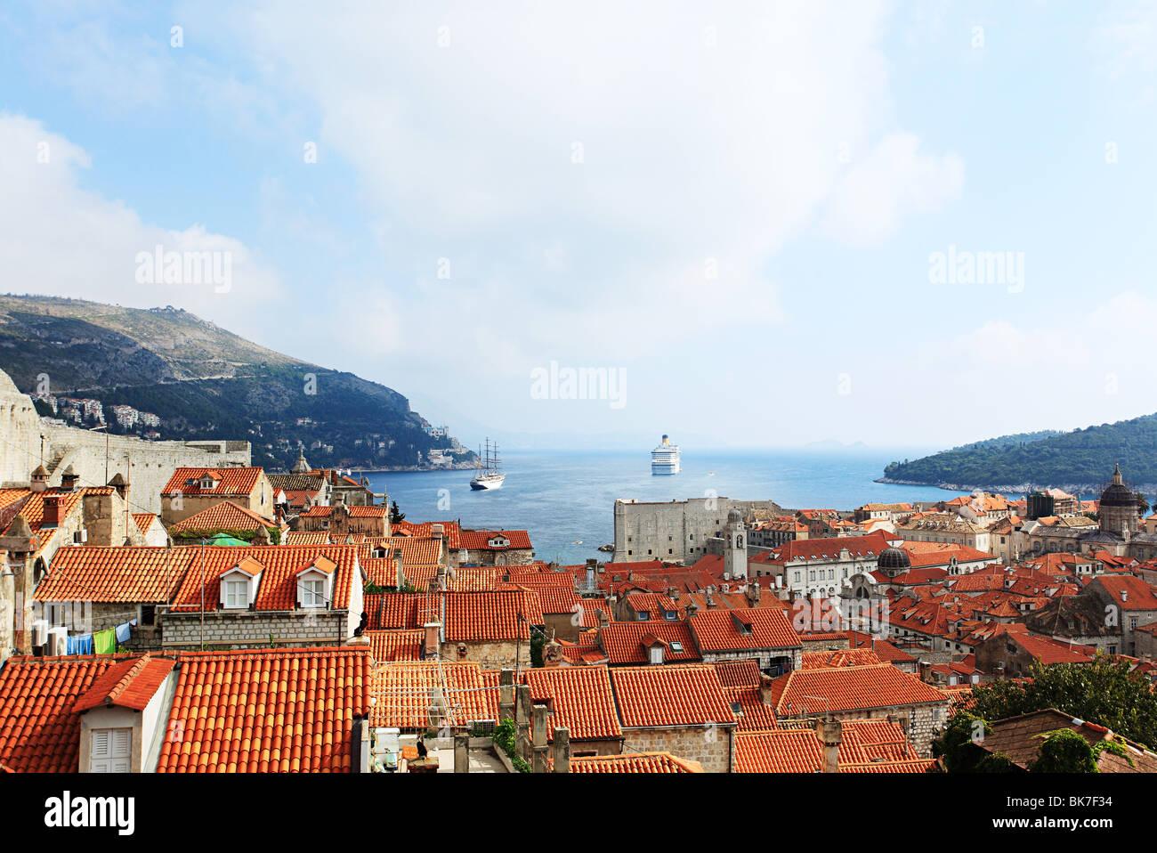 Edifici di Dubrovnik Immagini Stock