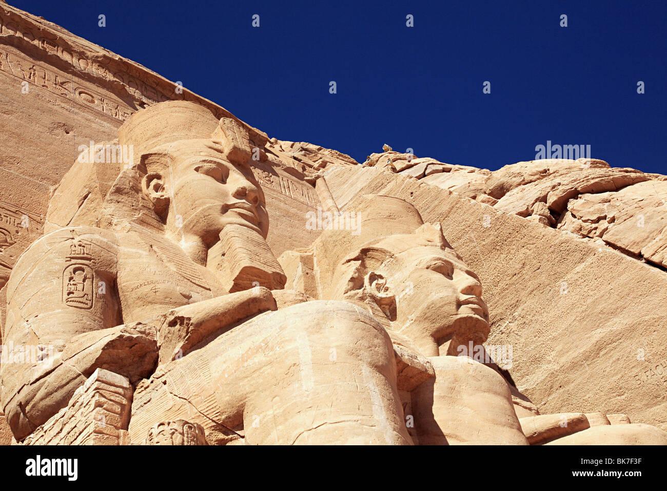 Abu Simbel tempio egitto Immagini Stock