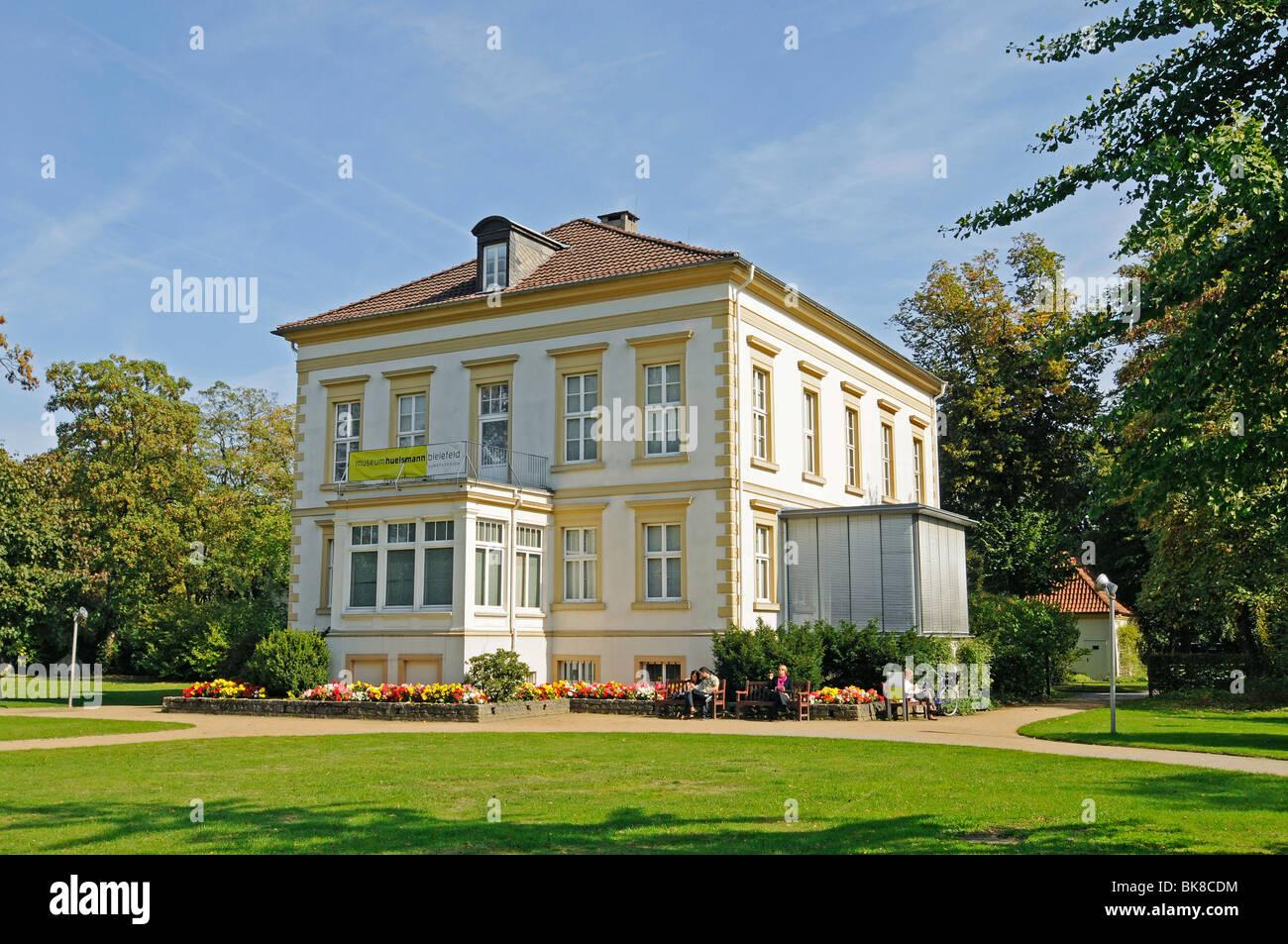Museo Huelsmann, Museo di Arti Decorative, Museo d'arte, Ravensberger Park, Ravensberger Spinnerei, Bielefeld, Immagini Stock