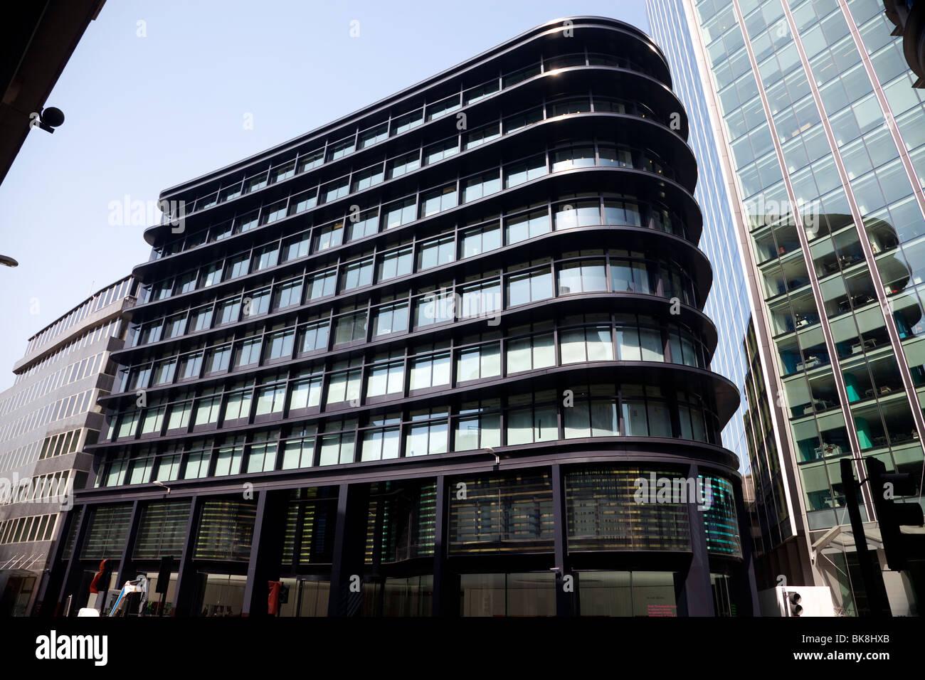 60 Threadneedle Street, Londra, Regno Unito Immagini Stock