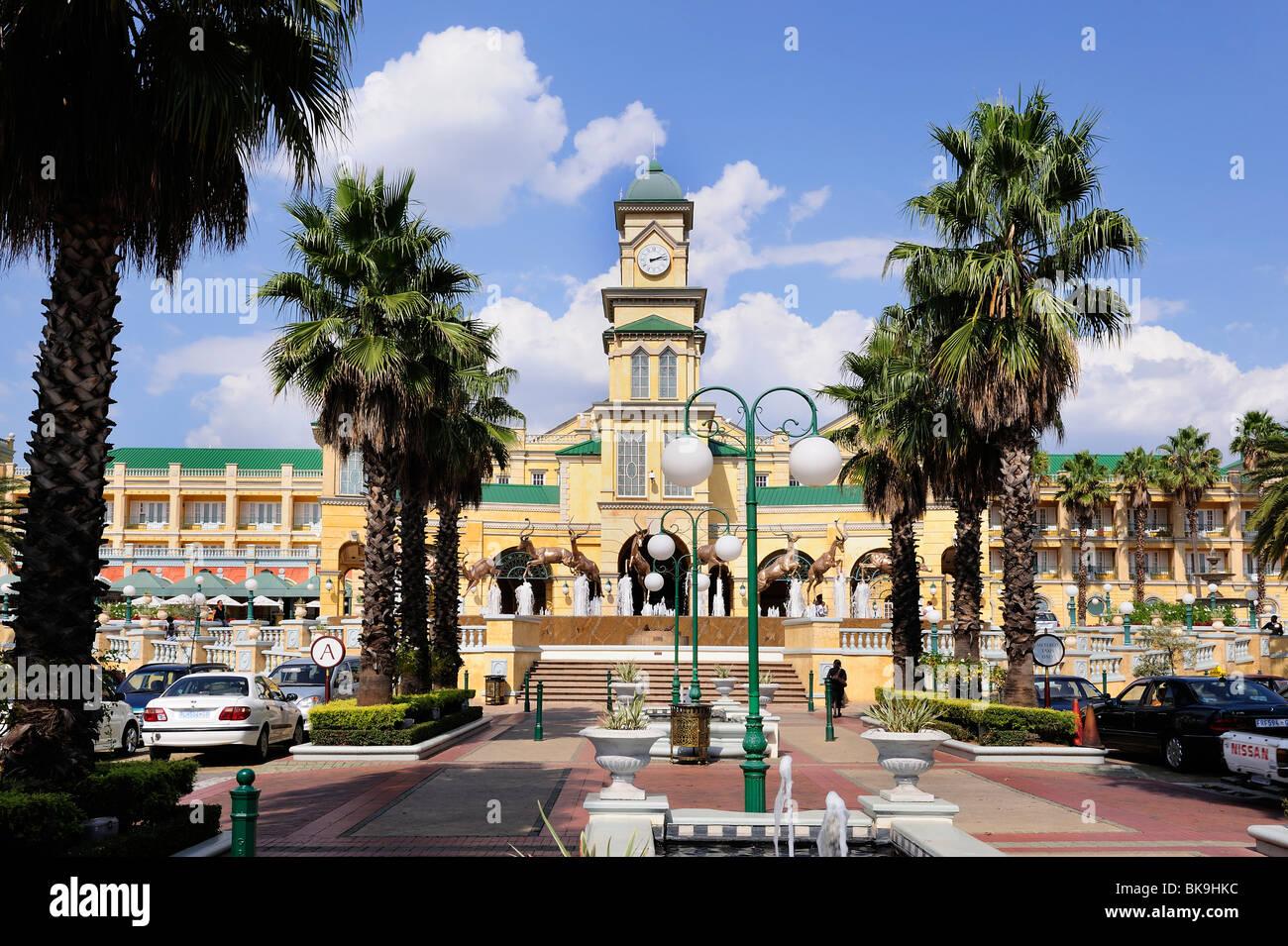 Golden Reef City Casino, Johannesburg, Sud Africa Immagini Stock