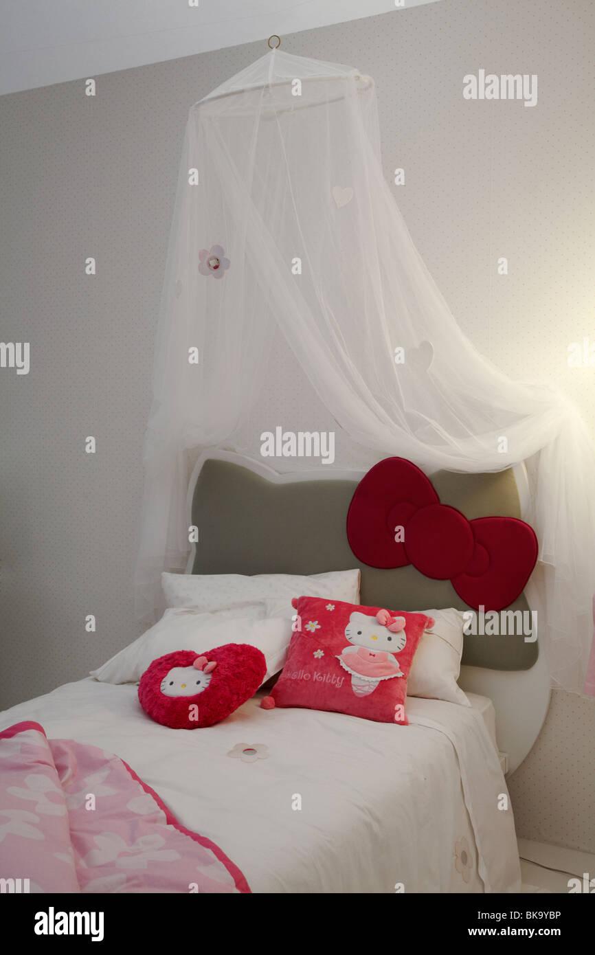 Letti Per Bambini Hello Kitty.Ciao Kitty Camera Da Letto Interior Design Di Mobili Per Bambini