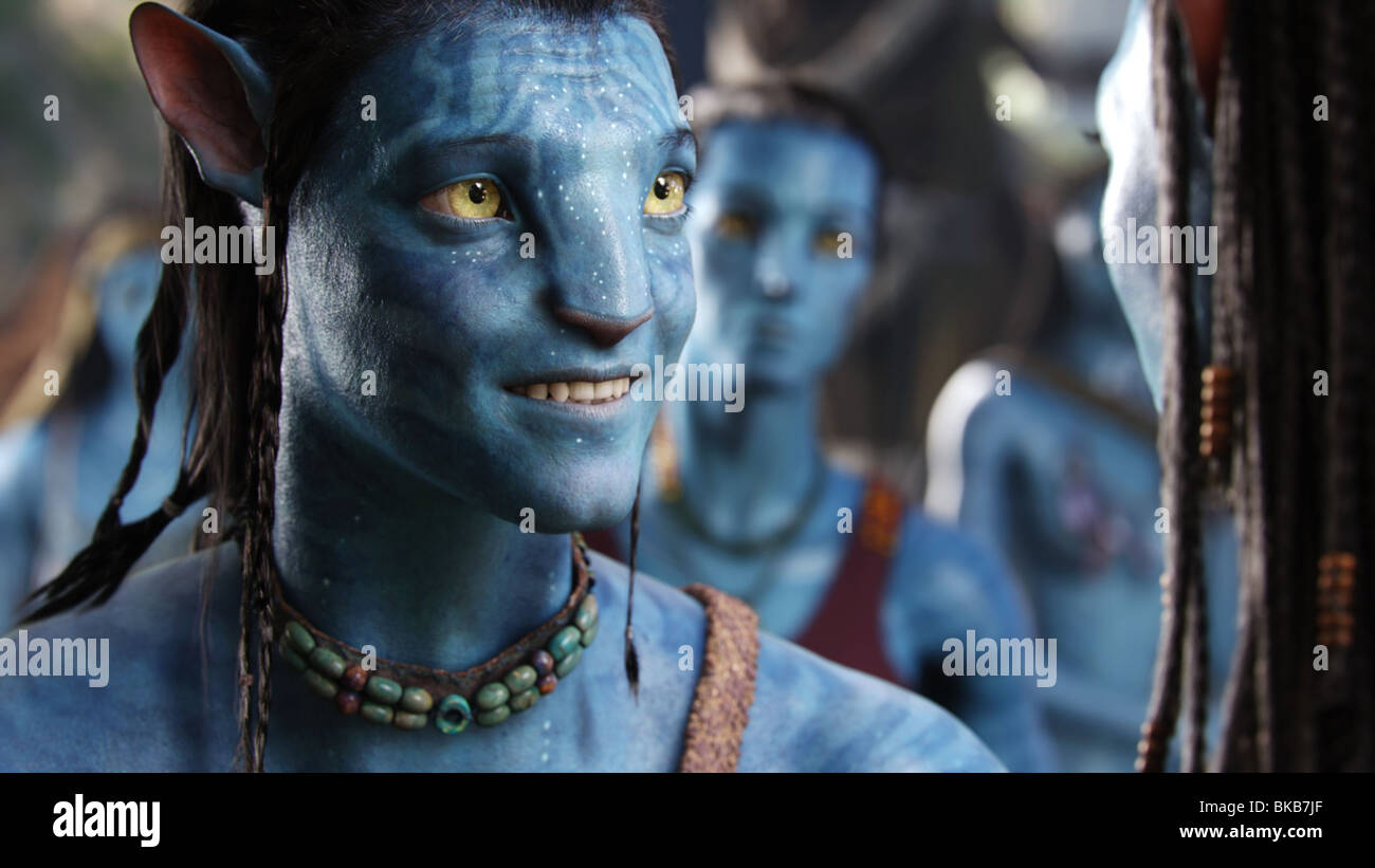 Avatar Anno : 2009 Direttore : James Cameron Sam Worthington Immagini Stock